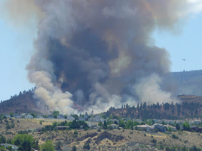 Pinehaven Fire near Caughlin Ranch in Reno