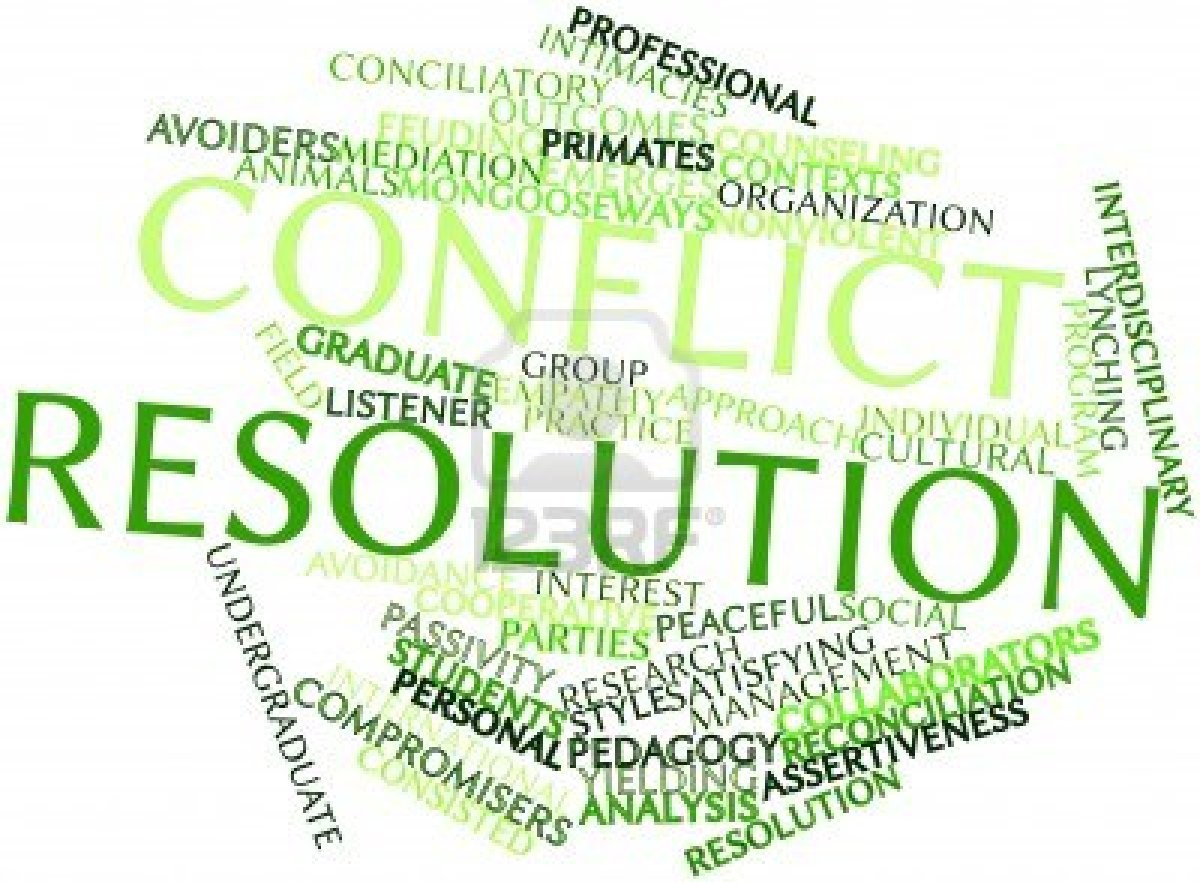 role of conflict in effective group communication International peace and conflict resolution school of international service the american university c role conflict involves very real differences in role.