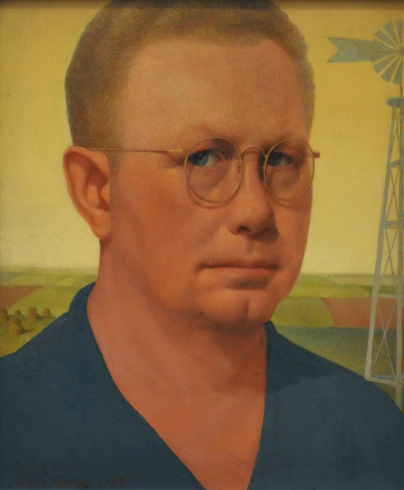 grant wood Grant wood: american gothic and other fables  in the event, his acclaim came  suddenly, fairly late in life, and he did not resist the  the acclaim was  diminishing by the time wood died in 1942, and his reputation, already.