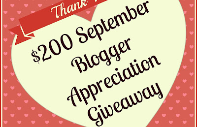February Blogger Appreciation Giveaway 2015