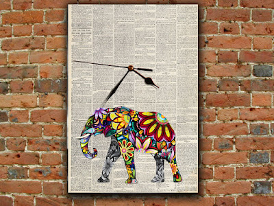 newspaper wall art