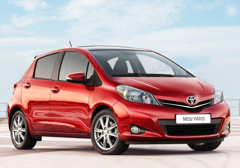 TOYOTA YARIS 2012 RED CAR REVIEW WITH WALLPAPERS  Toyota Cars