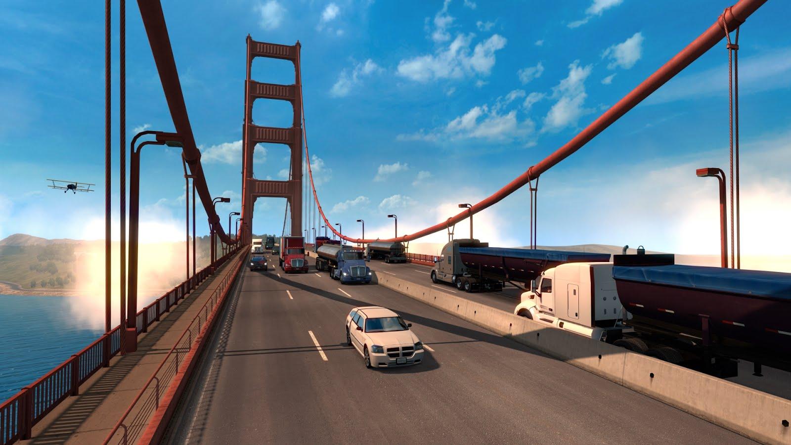american truck simulator все штаты