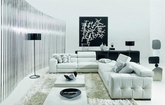 Contoh Interior Warna Ruangan Netral Lembut