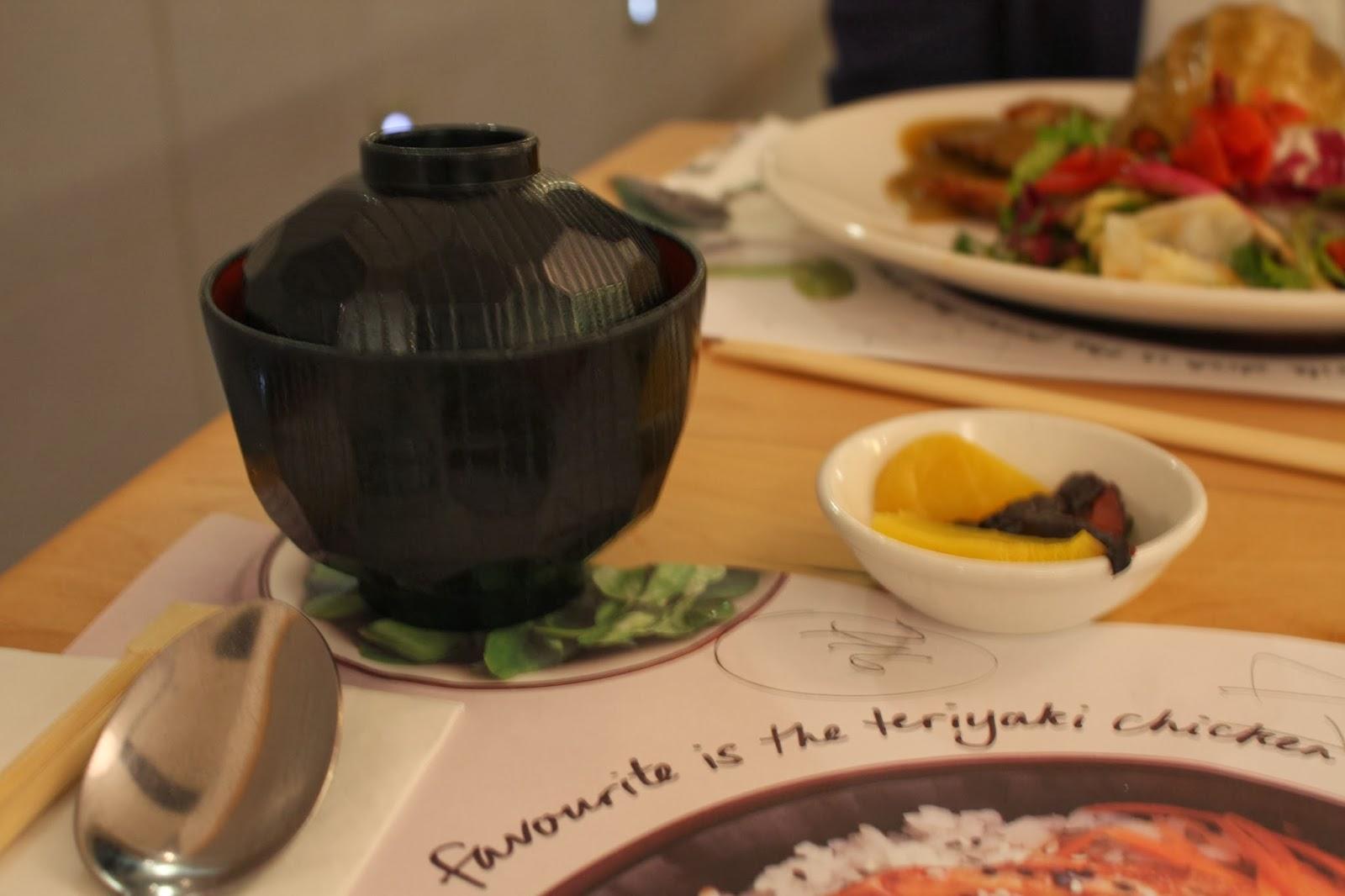 Dinner at Wagamamas