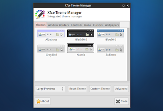 XFCE THEME MANAGER: A SINGLE GUI TO CHANGE ANY XFCE THEME (WITH PREVIEWS)