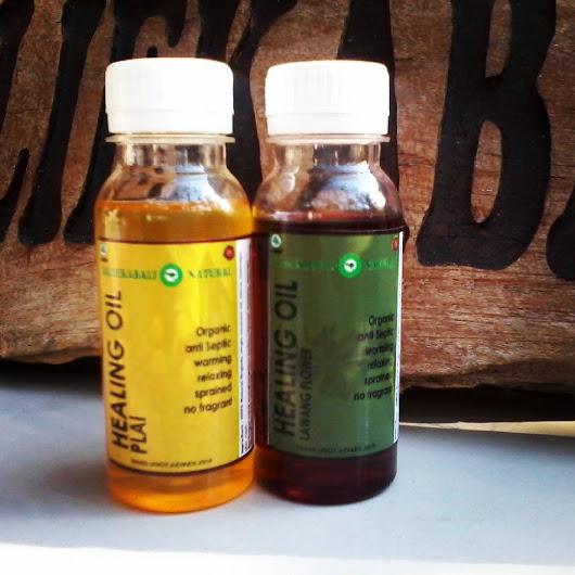 HEALING OIL NATURAL ORGANIC BALI EKABALI
