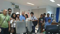 Visita de alumnos a Refinería de Talara