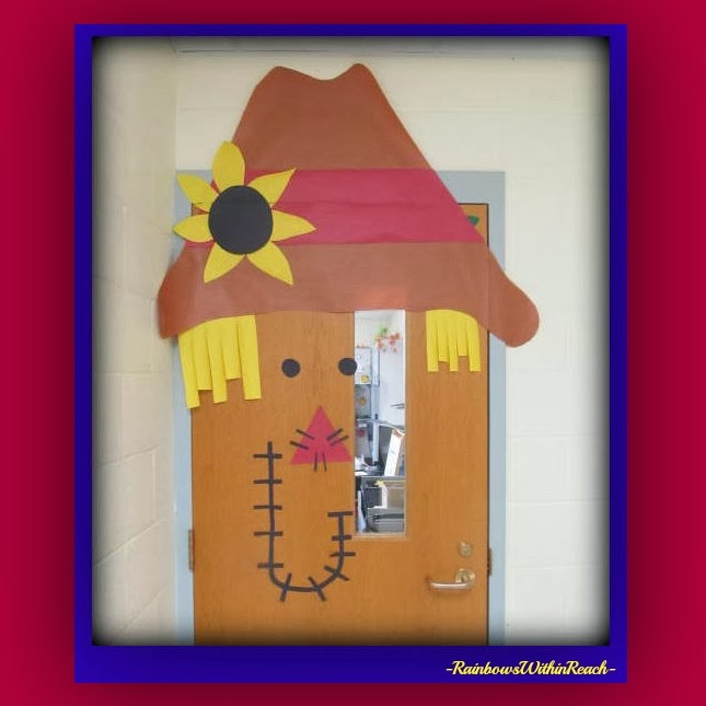 Scarecrow Door Decoration Classroom ~ Rainbowswithinreach spot