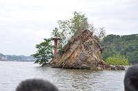 The legend rock is said to be the ship of Nakhoda Ragam