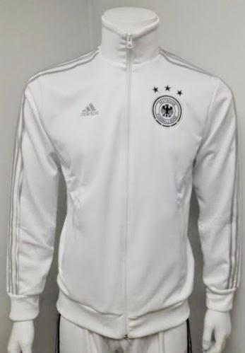 Jaket Grade Ori Jerman Anthem Track Top White World Cup 2014-15