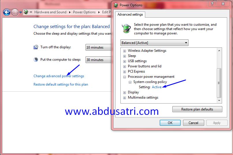 Memperbaiki cpu usage 100% di windows 7