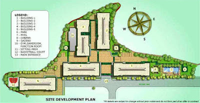 Studio City Alabang Site Development Map, Condominium for sale in Alabang, Filinvest