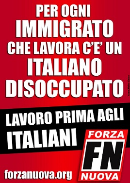 Lavoro prima agli Italiani!
