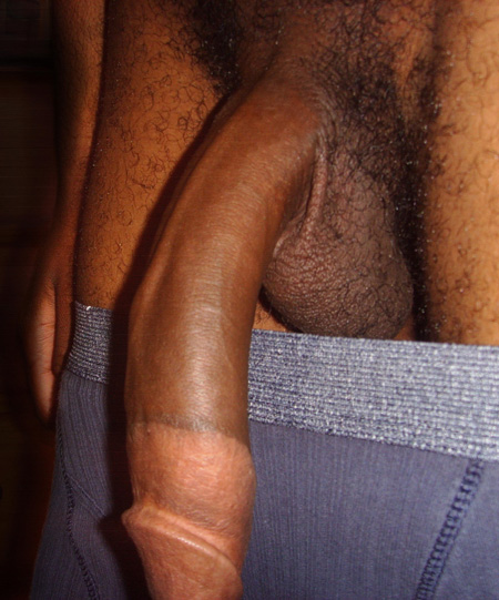 Giant gay black cock