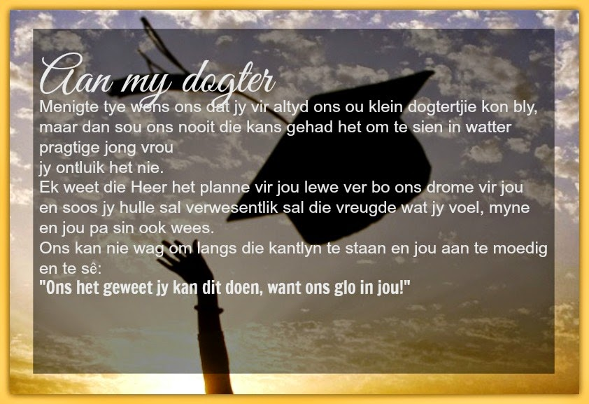 N Dogter Afrikaanse Inspirerend...