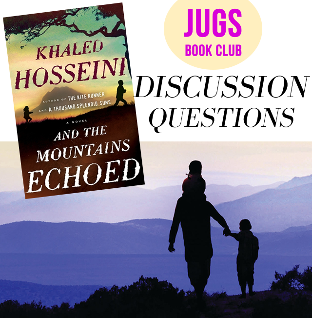 Just us gals book club discussion questions for and the mountains