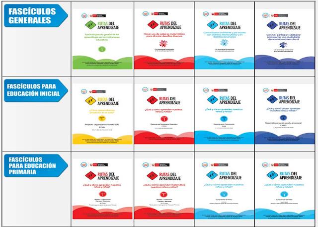 Las rutas del aprendizaje 2014