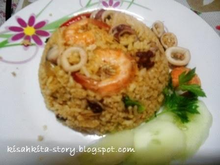 Idayuni: Resepi Nasi Goreng Seafood Special