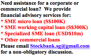 SME Commercial And Corporate Loans