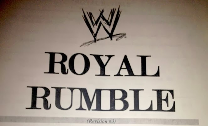 "Download » Leaked WWE ""Royal Rumble 2013"" Script E-Book (PDF 
