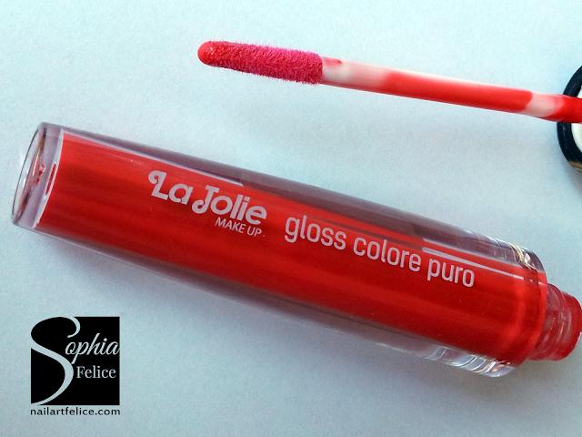 Lip Gloss la Jolie n°8 - rosso_01