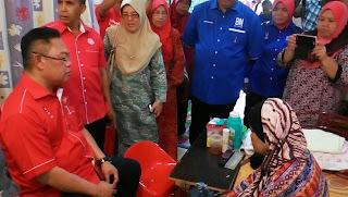 Lensa Niring Walkbout NohOmar Melawat Orang Sakit Di PDM Jalan Baru NajibRazak