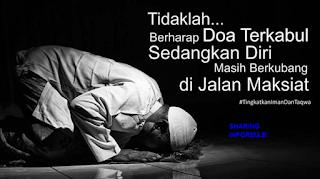 Penyebab Doa Tidak Dikabulkan Allah