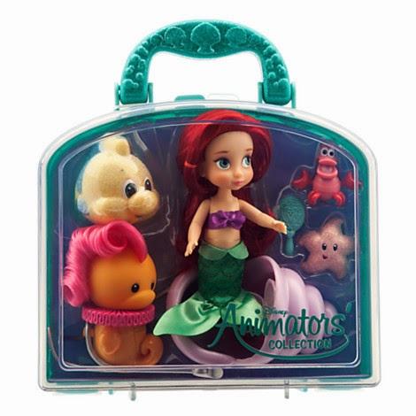 Disney Animators/' Collection Mulan Mini Doll Playset