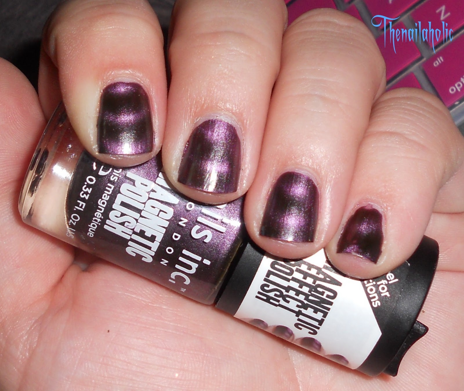 The Nailaholic: WARNING: Magnetic Polishes Are Not MRI Safe
