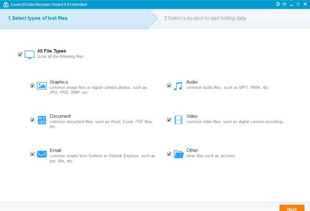 EaseUS Data Recovery Wizard 8.8 Full Keygen