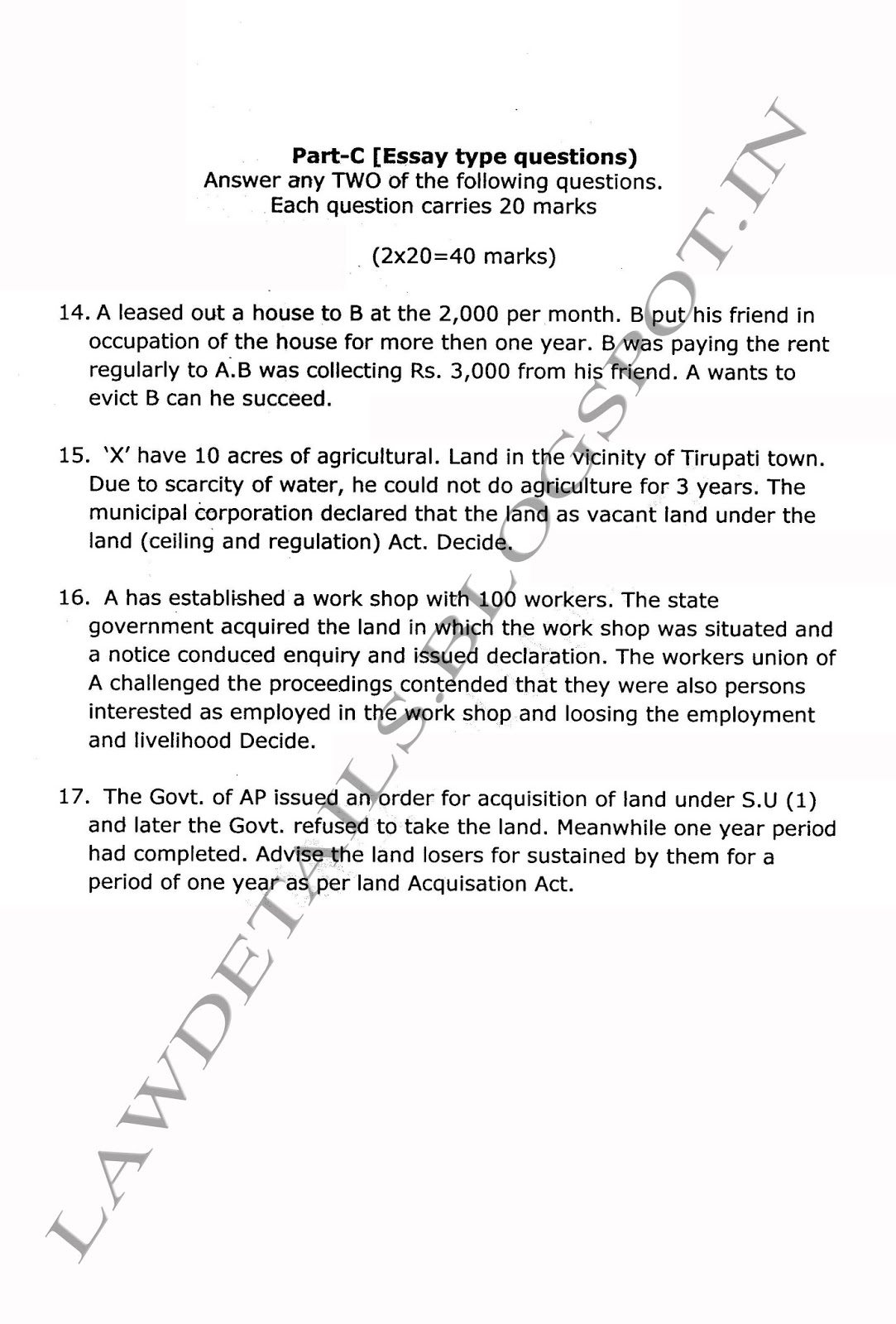 land law essays land pollution essay essay on land pollution in  lawdetails pot in land law including tenure and tenancy 2011 page 2