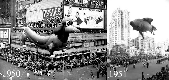 Macy's Thanksgiving Day Parade 1950 - 1951