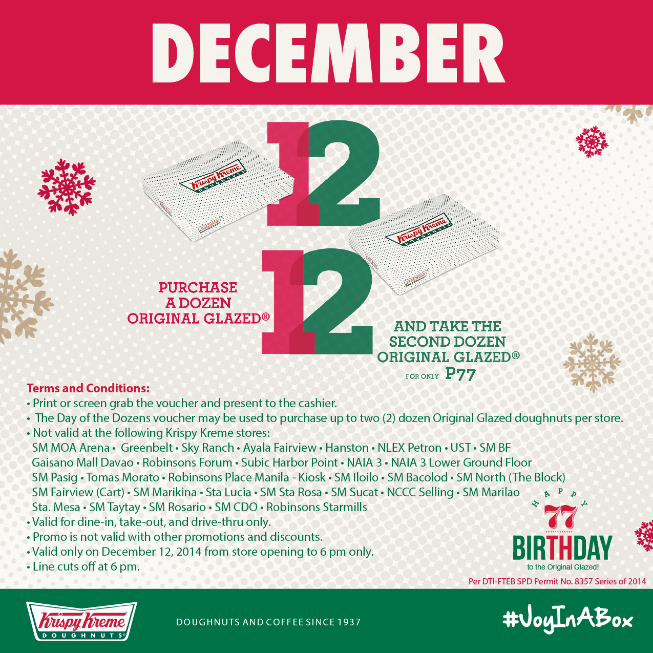 FTW! Blog, Krispy Kreme, Day of the Dozen 2014, #032eatdrink