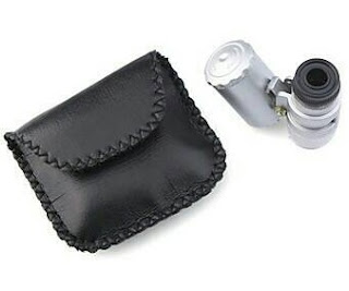 Mikroskop mini portabel, Alat Pembesar 60x