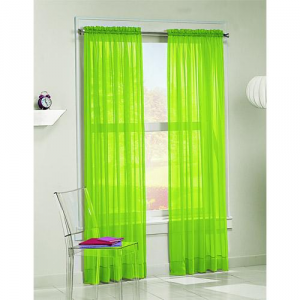 Made Of Metal Neon Curtains Trend