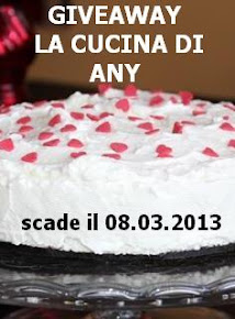 partecipo al GIVEAWAY la cucina di any