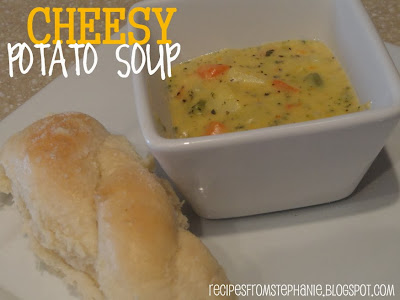 Recipes from Stephanie: Cheesy Potato Soup