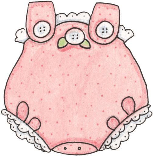 Pelele rosa para niña