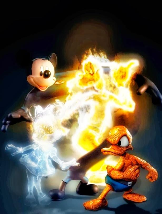 Fantastic Four Disney