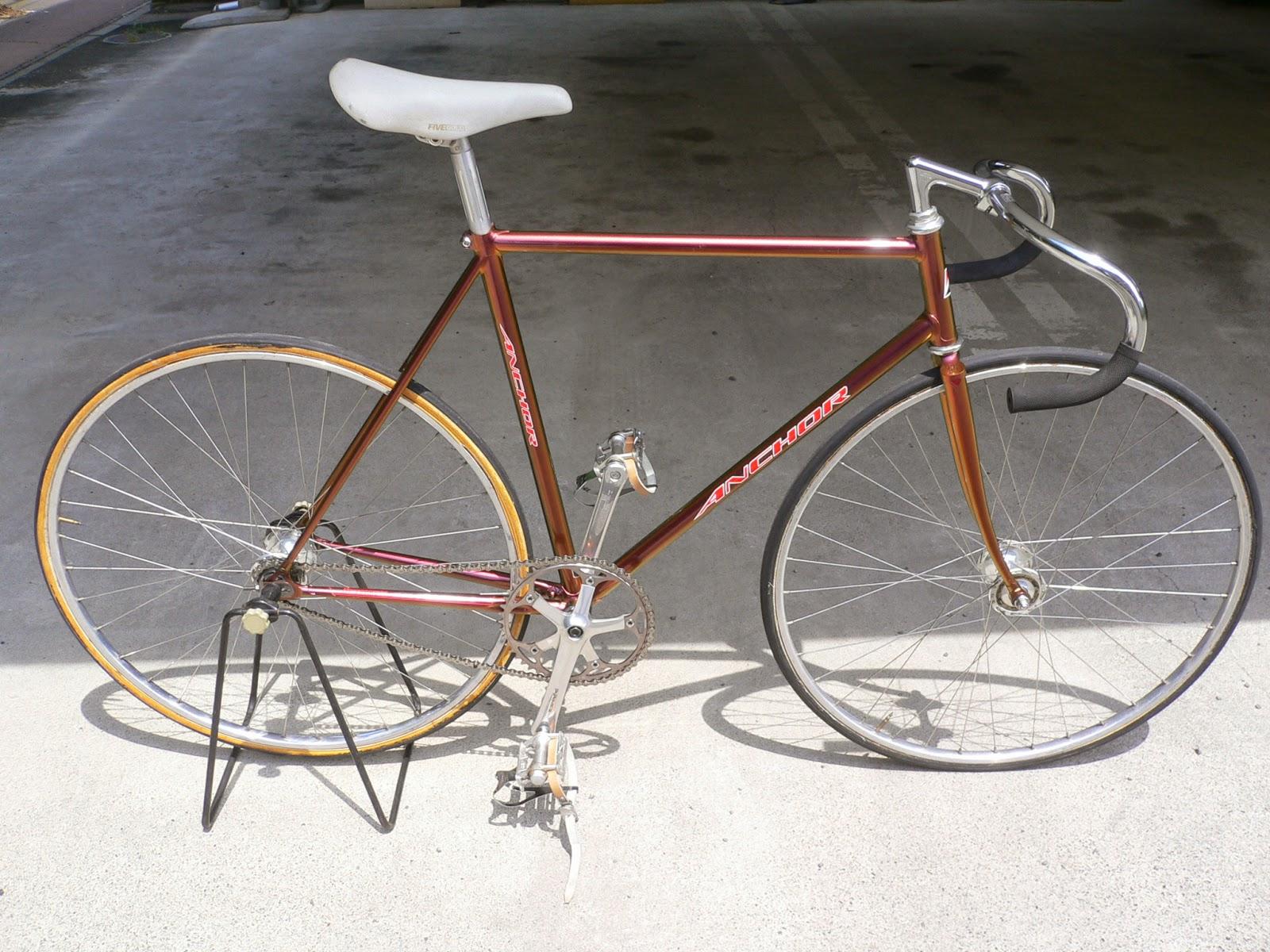 njs keirin track bike &frame for sell: Bridestone ANCHOR njs keirin bike