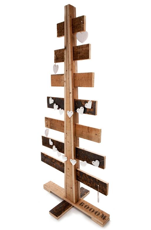 Mijnhuisstijlenik kerstbomen - Een houten boom maken ...