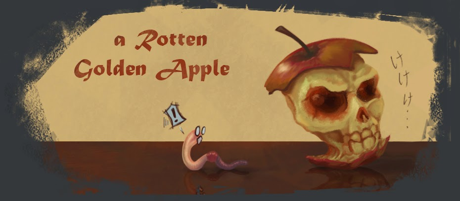a Rotten Golden Apple