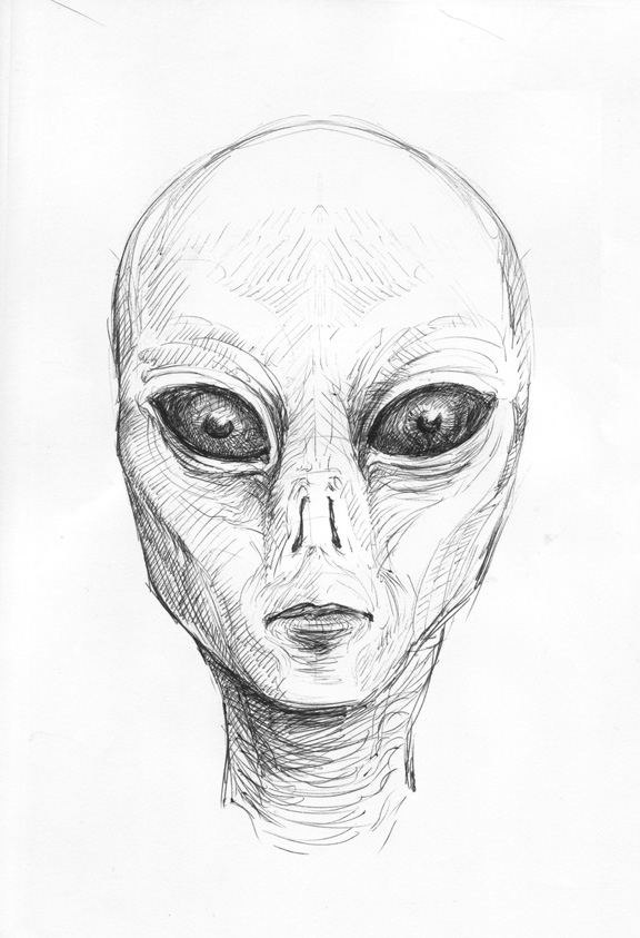 ArtSpace: Alien Drawing