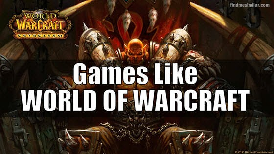 MMORPG games like World of Warcraft (WoW)