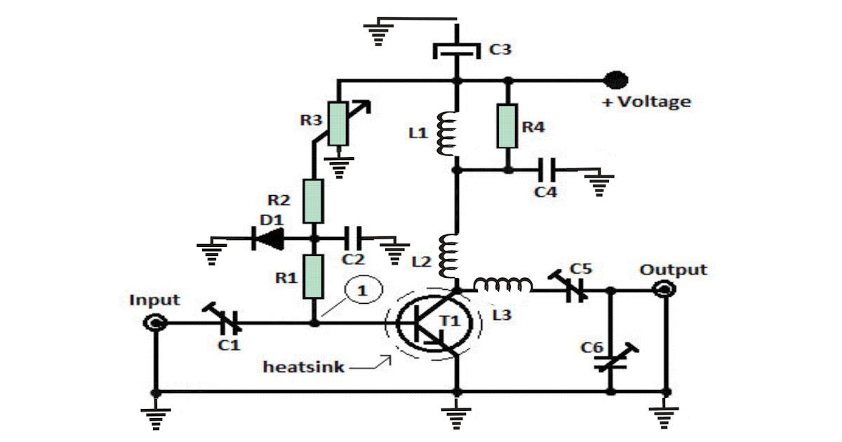 1 watt  10km fm transmitter circuit