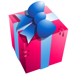 Cartoon Christmas Gift Box