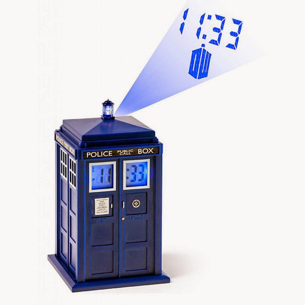 Despertador Proyector Cabina TARDIS