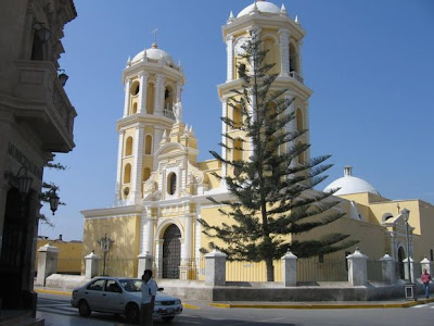 La iglesia colonial San Pedro de Lambayeque