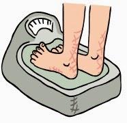 obsesión peso